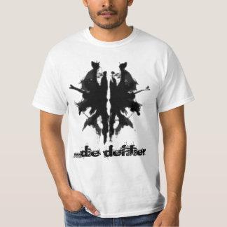 camisa de la mancha blanca /negra de la tinta…