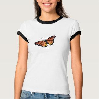 Camisa de la mariposa de monarca