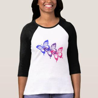Camisa de la mariposa del BI
