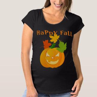 Camisa de la maternidad de la caída