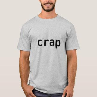 camisa de la mierda del Jackass