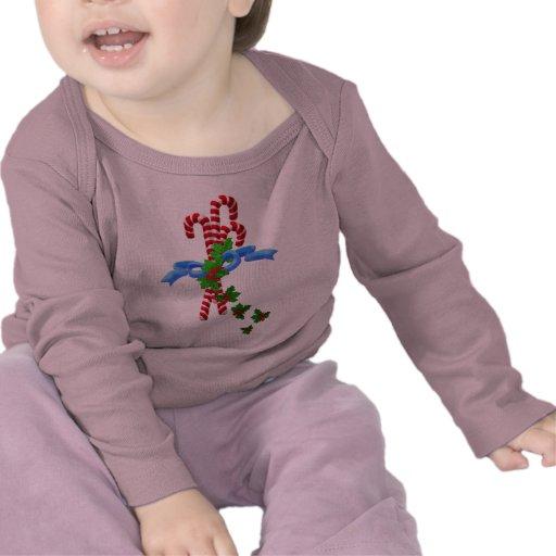 Camisa de la moda del bebé del navidad de Candy