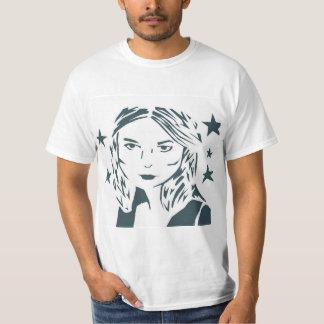 Camisa de la mujer del arte de la calle