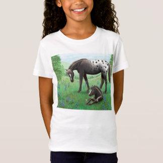 Camisa de la muñeca de los chicas del caballo y