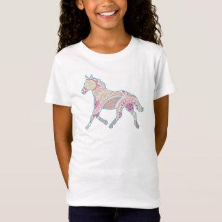 Camisa de la muñeca del caballo que trota de