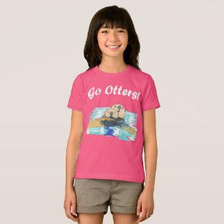 Camisa de la nutria para ms S