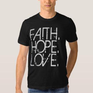 Camisa de la oscuridad del amor de la esperanza de