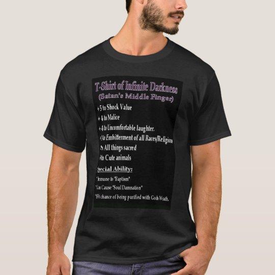 Camisa de la oscuridad infinita