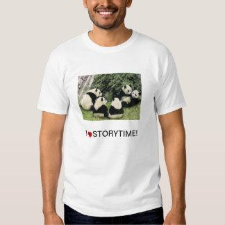 camisa de la panda de i <3 Storytime