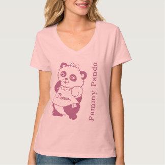 Camisa de la panda de Pammy de los cuentos de la