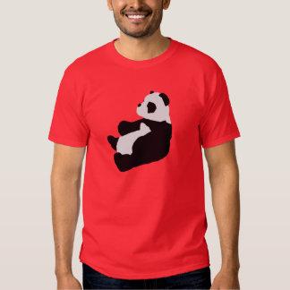 Camisa de la panda que se sienta