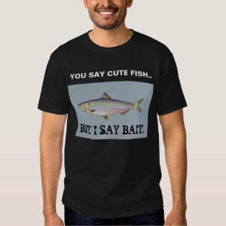 Camisa de la pesca - camiseta linda de los
