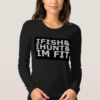 camisa de la pesca - la camisa de IhuntIfish&Imfit