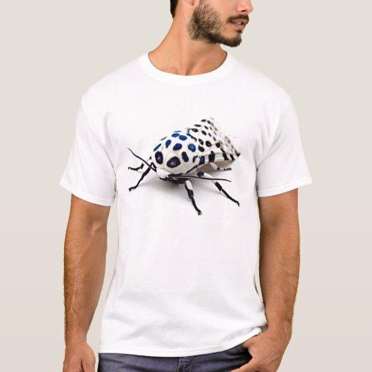Camisa de la polilla del leopardo