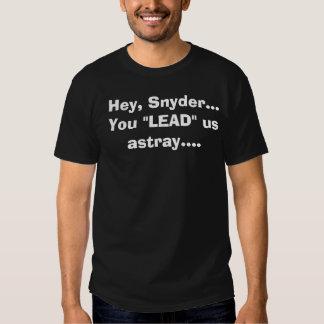 Camisa de la protesta de Rick Snyder