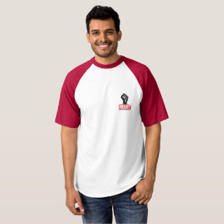 Camisa de la protesta del estilo del béisbol