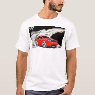 Camisa de la quemadura del desafiador de Dodge