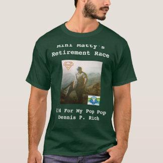 Camisa de la raza del retiro