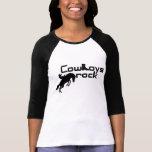 Camisa de la roca de los vaqueros