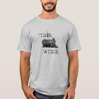 Camisa de la ruina del tren