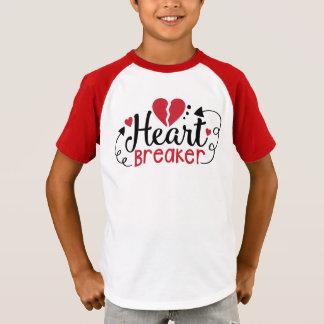 Camisa de la tarjeta del día de San Valentín del