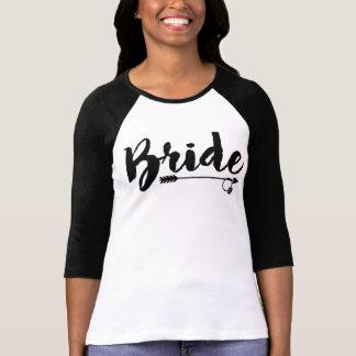 Camisa de la tribu de la novia para la novia