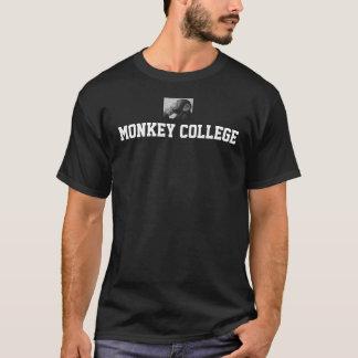 Camisa de la universidad del mono