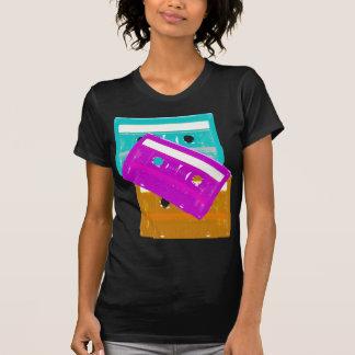 Camisa de las cintas de casete del tigre 80s de