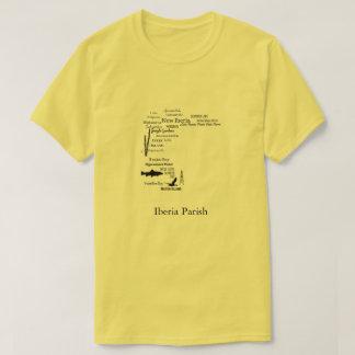 Camisa de las ciudades y de los lugares de la