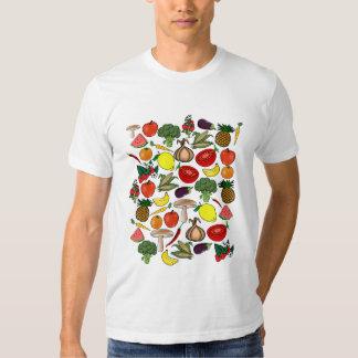 Camisa de las frutas y de los Veggies - elija el