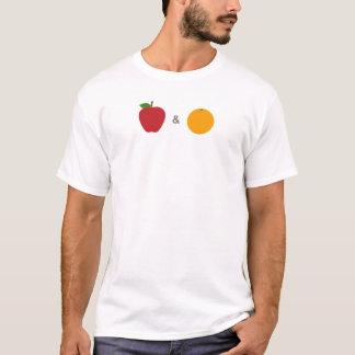 Camisa de las manzanas y de los naranjas