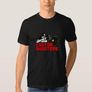Camisa de las pistolas del barranco de American