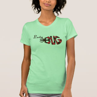 Camisa de las señoras de la mariquita