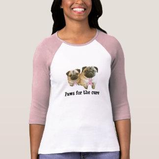 Camisa de las señoras del cáncer de pecho del