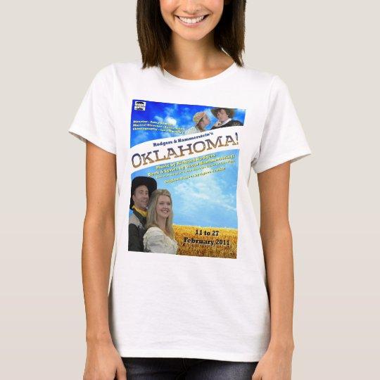 Camisa de las señoras del poster de Oklahoma
