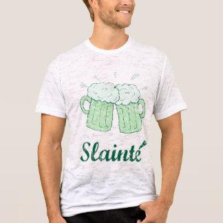 Camisa de las tazas de cerveza del vintage slainte