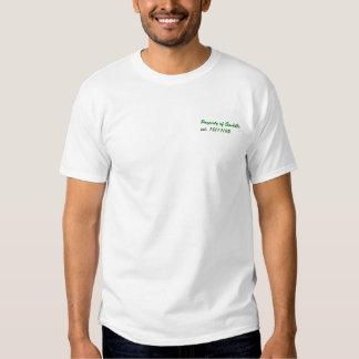 Camisa de las vacaciones de primavera
