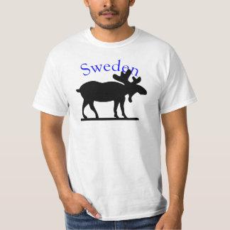 Camisa de los alces de Suecia