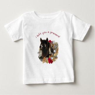 Camiseta De Bebé Camisa de los cascabeles de las Felices Navidad de