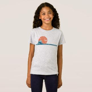 Camisa de los chicas del estilo del vintage de la