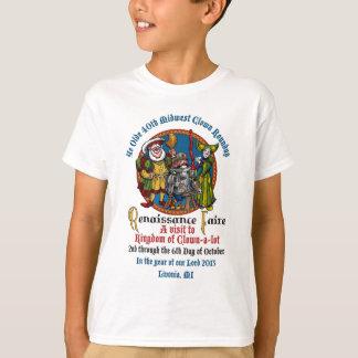 Camisa de los niños del MCA 40.o