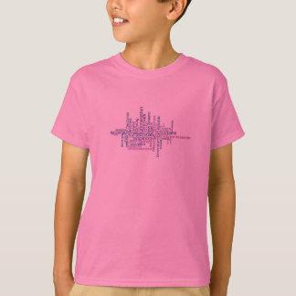 Camisa de los países de los niños 86