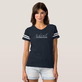Camisa de lujo del fútbol del psicólogo de la