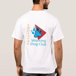 Camisa de manga corta del logotipo del club del