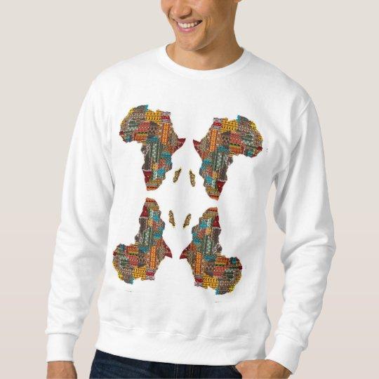 Camisa de manga larga africana y orgullosa del |
