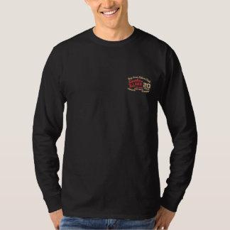 Camisa de manga larga bordada 2016 personalizados