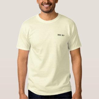 ¡Camisa de manga larga bordada personalizado!