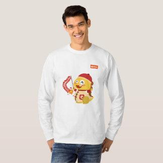 Camisa de manga larga china del Año Nuevo de