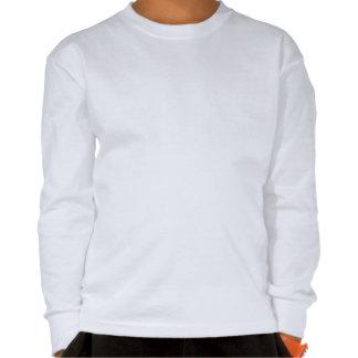 Camisa de manga larga colorida del cráneo