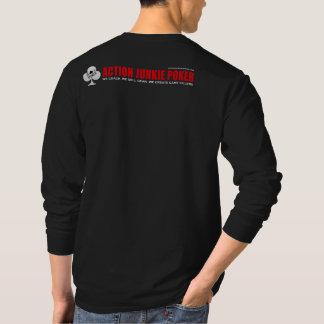Camisa de manga larga de AJP de los hombres